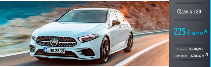 Ofertas Mercedes Clase A 180 con Mercedes-Benz Alternative